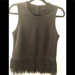 J Crew fringed Top, Large